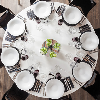 Art de la table anglais