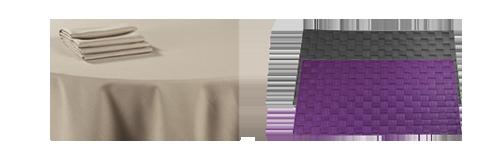 Location : Location de nappes et textiles