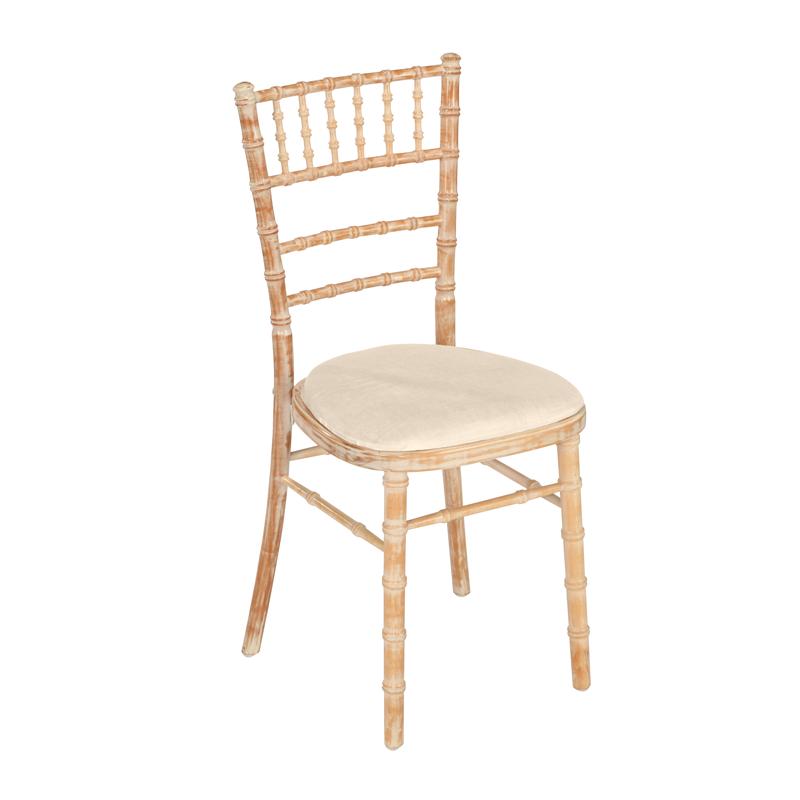 Location Chaise bambou assise écrue Options