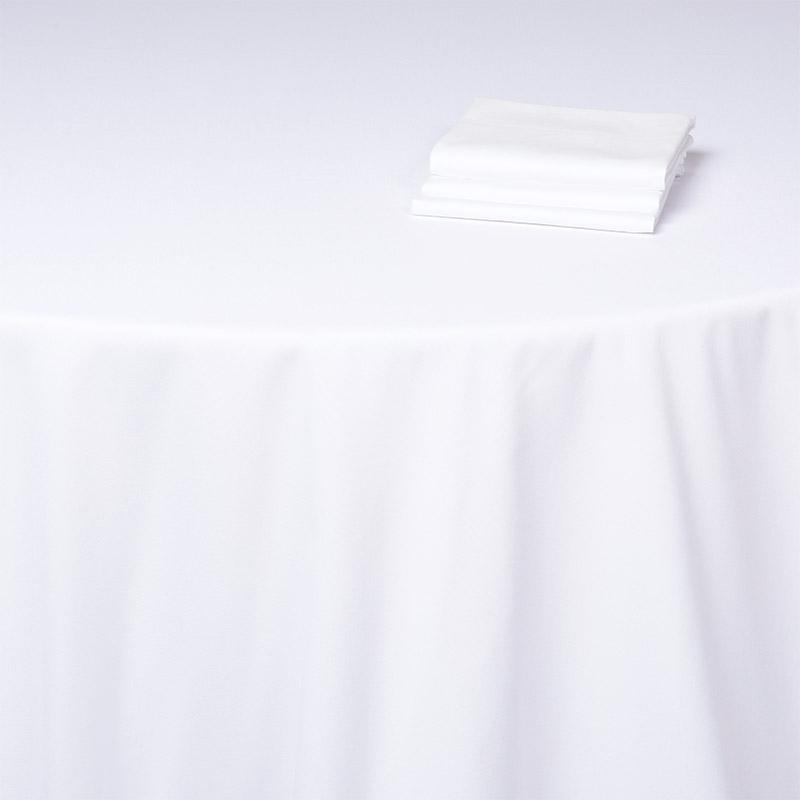 Serviettes De Table Blanc Douze Pièces 40x40cm Coton