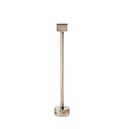 Potelet de table doré H 26,5 cm