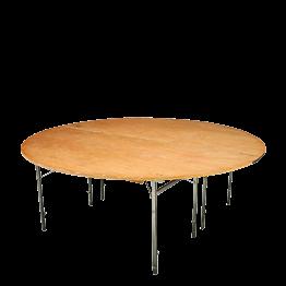 Table ronde Ø 200 cm ignifugée