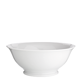 Saladier blanc Ø 25 cm H 10 cm 200 cl