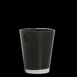 Seau à champagne noir Ø 20 cm H 25 cm