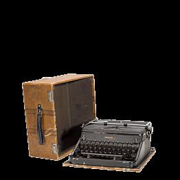 Machine à écrire Vintage 34 x 15,5 cm H 32,5 cm