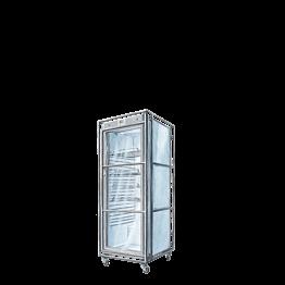Armoire réfrigérée ventilée vitrée 400 L - 230 V