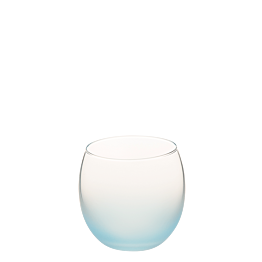 Bubble givré bleu Ø 6.5 cm H 6.5 cm 15 cl