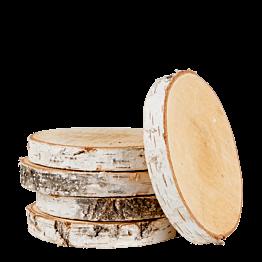 Rondelle de bois vintage moyen format