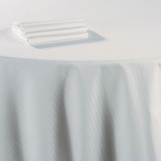 Nappe coton blanc 180 x 300 cm