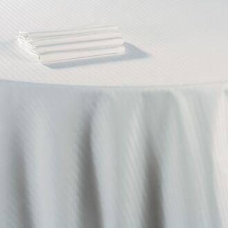 Nappe coton blanc 210 x 400 cm