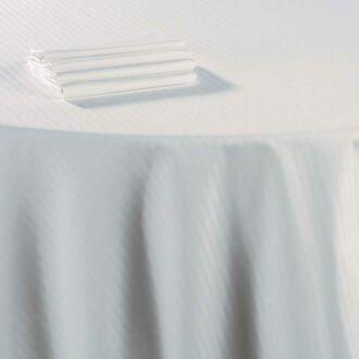 Nappe coton blanc 120 x 120 cm