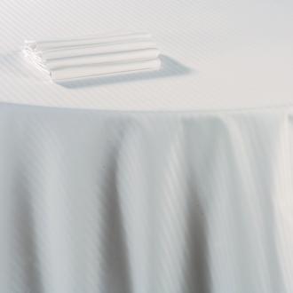 Nappe coton blanc 240 x 1200 cm