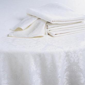 Serviette de table Venise ivoire 50 x 50 cm