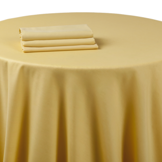 Nappe chintz jaune tournesol 270 x 500 cm