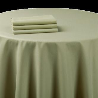 Nappe chintz vert amande 270 x 270 cm