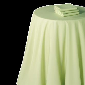 Nappe chintz pistache 210 x 210 cm