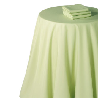 Nappe chintz pistache 240 x 240 cm