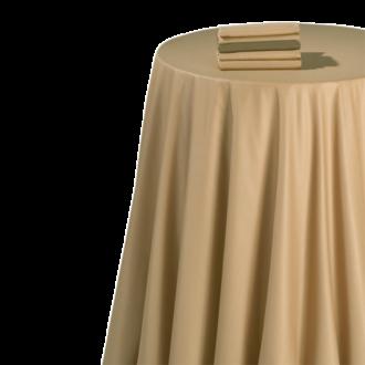 Serviette de table chintz caramel 60 x 60 cm