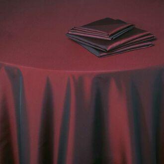 Nappe Toscane rouge Opéra 210 x 210 cm