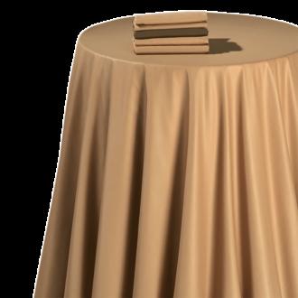 Chemin de table chintz caramel 50 x 270 cm