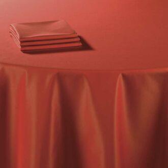 Serviette de table Toscane mandarine 60 x 60 cm