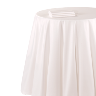 Nappe chintz blanc 290 x 800 cm ignifugée M1