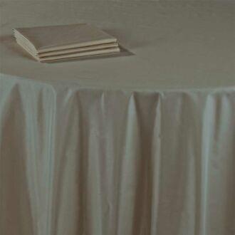 Serviette de table Toscane taupe 60 x 60 cm