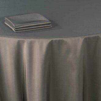 Serviette de table Toscane bronze 60 x 60 cm