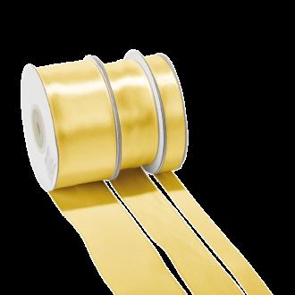 Ruban de satin or 25 mm Longueur 25 m