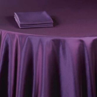 Serviette de table Toscane cassis 60 x 60 cm