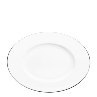 Assiette de présentation Platinium Ø 33 cm