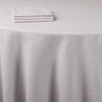 Chemin de table lin gris 50 x 270 cm