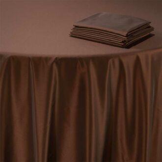 Serviette de table Toscane cuivre 60 x 60 cm