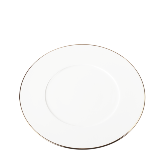 Assiette plate Plane Filet Or Ø 27 cm