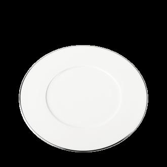 Assiette plate Plane Filet Argent Ø 27 cm