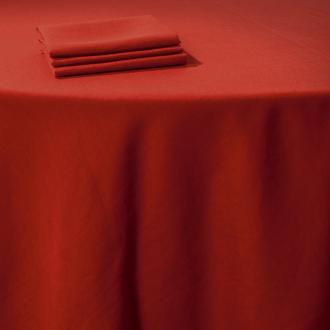 Serviette de table Lin rouge 50 x 50 cm
