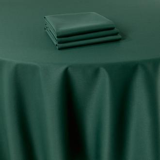 Serviette de table Marjorie vert 50 x 50 cm ignifugée M1