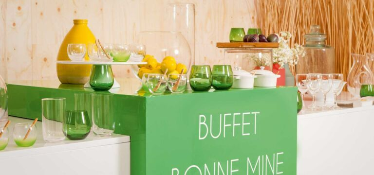 Buffet bonne mine