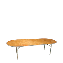Table ovale 100 x 250 cm