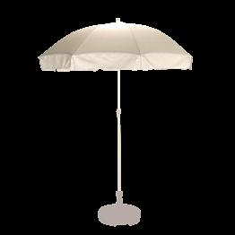 Parasol blanc Ø 180 cm