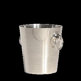 Seau à champagne argent H 20 cm Ø 20 cm