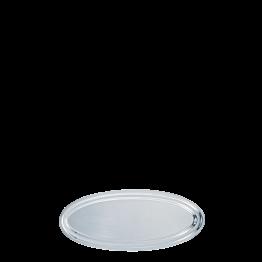 Plat ovale argent 60 cm