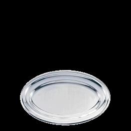 Plat ovale argent 40 x 60 cm