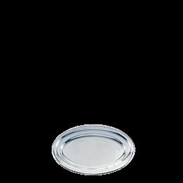 Plat ovale argent 33 x 50 cm