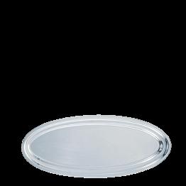 Plat ovale argent 80 cm