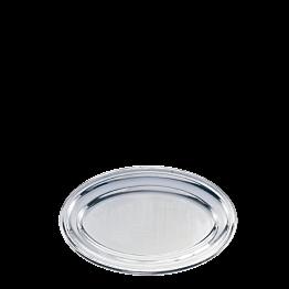Plat ovale inox 40 x 60 cm