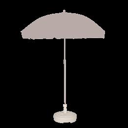 Socle de parasol plastique blanc Ø 43 cm