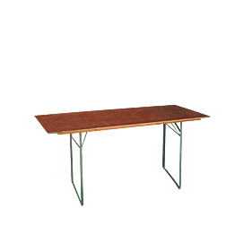 Table rectangulaire 80 x 220 cm H 76 cm