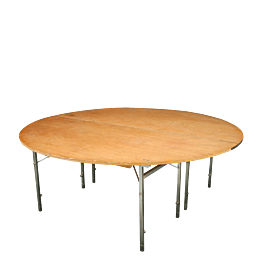 Table ronde Ø 200 cm ignifugée