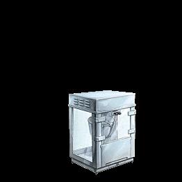 Machine à pop-corn 220 v livrée avec une pelle à pop-corn